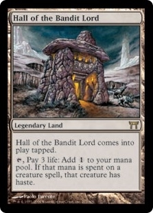 Magic the Gathering Champions of Kamigawa Single Hall of the Bandit Lord - MP
