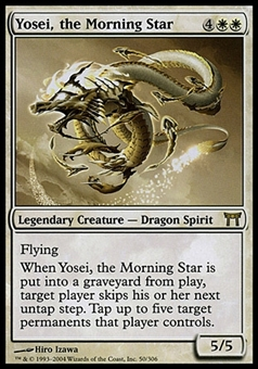 Magic the Gathering Champions of Kamigawa Single Yosei, the Morning Star - MODERATE PLAY (MP)