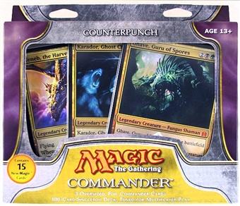 Magic the Gathering Commander Deck (2011) - Counterpunch