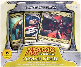 Magic the Gathering Commander Deck - Heavenly Inferno