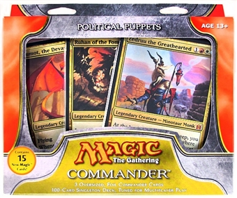 Magic the Gathering Commander Deck (2011) - Political Puppets