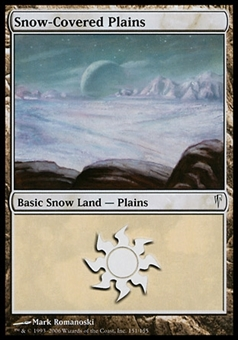 Magic the Gathering Coldsnap Single Snow-Covered Plains - NEAR MINT (NM)