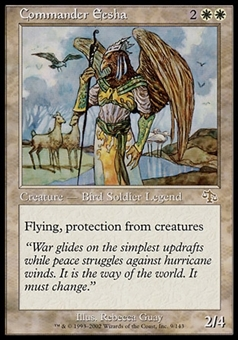 Magic the Gathering Judgment Single Commander Eesha FOIL - SLIGHT PLAY (SP)