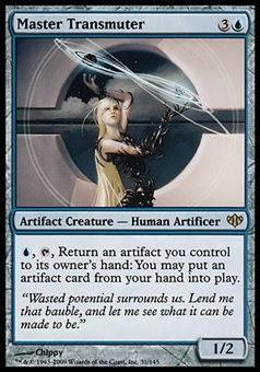 Magic the Gathering Conflux Single Master Transmuter - SLIGHT PLAY (SP)