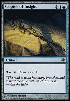 Magic the Gathering Conflux Single Scepter of Insight FOIL - NEAR MINT (NM)