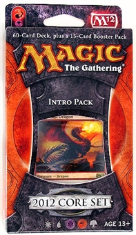 Magic the Gathering 2012 Core Set Intro Pack - Blood and Fire