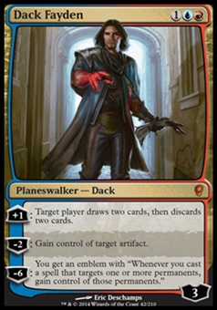 Magic the Gathering Conspiracy Single Dack Fayden - NEAR MINT (NM)