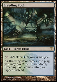Magic the Gathering Dissension Single Breeding Pool - MODERATE PLAY (MP)