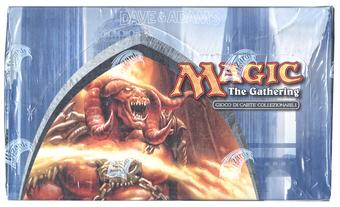 Magic the Gathering Dissension SEALED Booster Box - ITALIAN LANGUAGE