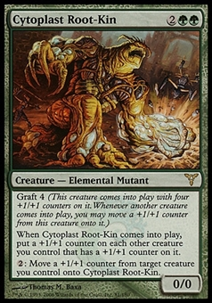 Magic the Gathering Dissension Single Cytoplast Root-Kin - SLIGHT PLAY (SP)