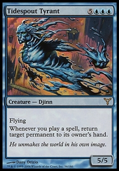 Magic the Gathering Dissension Single Tidespout Tyrant FOIL - SLIGHT PLAY (SP)