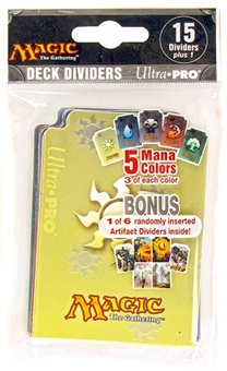 Ultra Pro Magic the Gathering Mana Symbol Card Dividers (16 Count Pack)