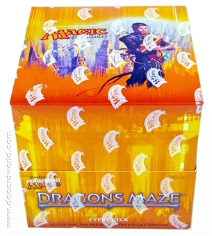 Magic the Gathering Dragon's Maze The Strength of Selesnya Event Deck Box