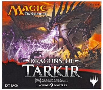 Magic the Gathering Dragons of Tarkir Fat Pack Box