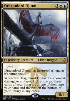 Magic the Gathering Dragons of Tarkir Single Dragonlord Ojutai NEAR MINT (NM)