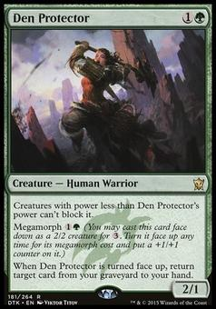 Magic the Gathering Dragons of Tarkir Single Den Protector NEAR MINT (NM)
