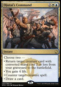 Magic the Gathering Dragons of Tarkir Single Ojutai's Command NEAR MINT (NM)