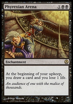 Magic the Gathering Duel Deck Single Phyrexian Arena - MODERATE PLAY (MP)