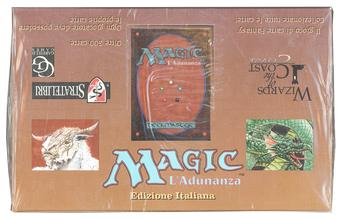 Magic the Gathering 3rd Edition (Revised) Booster Box (Italian) - FOREIGN BLACK BORDERED FBB