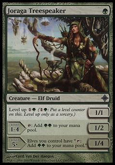Magic the Gathering Rise of Eldrazi Single Joraga Treespeaker - NEAR MINT (NM)