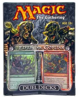 Magic the Gathering Elves Vs. Goblins Duel Deck