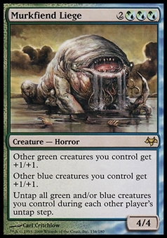 Magic the Gathering Eventide Single Murkfiend Liege - SLIGHT PLAY (SP)
