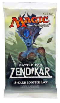 Magic the Gathering Battle for Zendikar Booster Pack