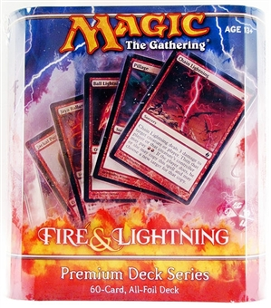 Magic the Gathering Premium Deck Series Fire & Lightning