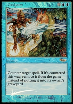 Magic the Gathering Promotional Single Dissipate FOIL (FNM) - MODERATE PLAY (MP)