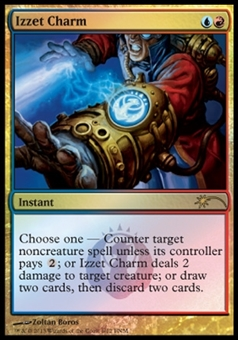 Magic the Gathering Promotional Single Izzet Charm (FNM) FOIL - SLIGHT PLAY (SP)