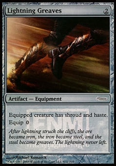 Magic the Gathering Promotional Single Lightning Greaves FOIL (FNM) - NEAR MINT (NM)