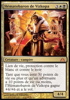 Magic the Gathering Dragon's Maze FRENCH Single Blood Baron of Vizkopa - NEAR MINT (NM)