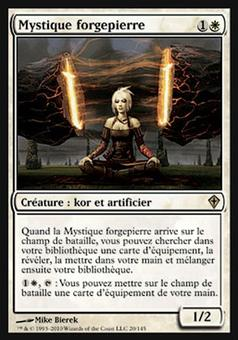 Magic the Gathering Worldwake FRENCH Single Stoneforge Mystic - NEAR MINT (NM)