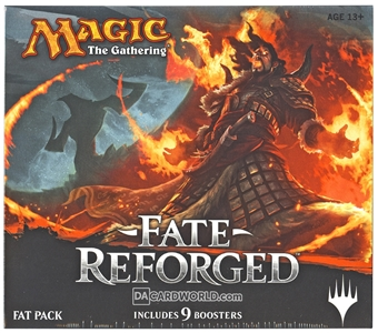 Magic the Gathering Fate Reforged Fat Pack Box