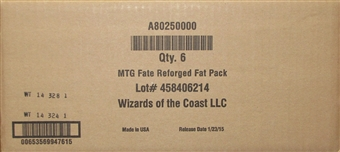 Magic the Gathering Fate Reforged Fat Pack Case (6 Ct.)