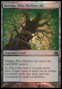 Magic the Gathering From The Vault Single Boseiju, Who Shelters All FOIL - SLIGHT PLAY (SP)