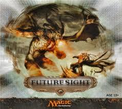 Magic the Gathering Future Sight Near-Complete Set (Missing Cloud Key) - SLIGHT PLAY