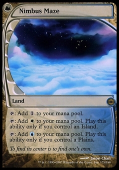 Magic the Gathering Future Sight Single Nimbus Maze FOIL - SLIGHT PLAY (SP)