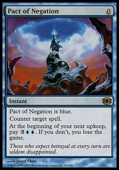 Magic the Gathering Future Sight Single Pact of Negation FOIL - SLIGHT PLAY (SP)