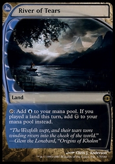 Magic the Gathering Future Sight Single River of Tears FOIL - SLIGHT PLAY (SP)