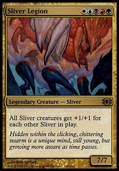 Magic the Gathering Future Sight Single Sliver Legion - SLIGHT PLAY (SP)