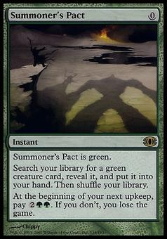 Magic the Gathering Future Sight Single Summoner's Pact - MODERATE PLAY (MP)