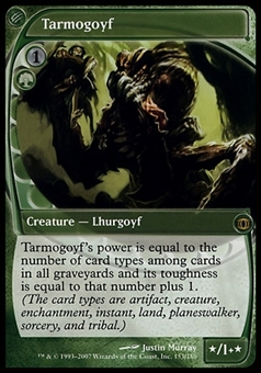 Magic the Gathering Future Sight Single Tarmogoyf - MODERATE PLAY (MP)