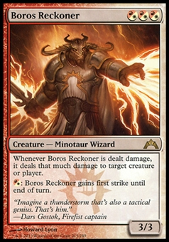 Magic the Gathering Gatecrash Single Boros Reckoner - SLIGHT PLAY (SP)