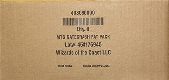 Magic the Gathering Gatecrash Fat Pack Case (6 Ct.)