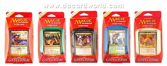 Magic the Gathering Gatecrash Intro Pack Set of 5