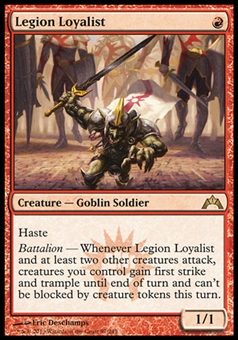 Magic the Gathering Gatecrash Single Legion Loyalist FOIL - NEAR MINT (NM)