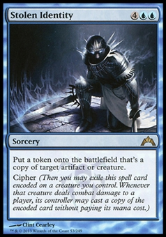 Magic the Gathering Gatecrash Single Stolen Identity FOIL - NEAR MINT (NM)