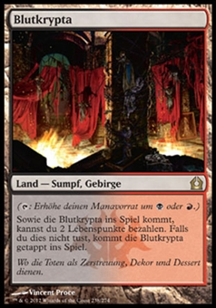 Magic the Gathering Return to Ravnica GERMAN Single Blood Crypt - NEAR MINT (NM)