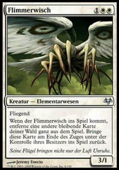 Magic the Gathering Eventide GERMAN Single Flickerwisp FOIL - NEAR MINT (NM)